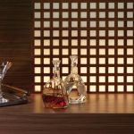 JAVA 15 lamella walnut, wall panel